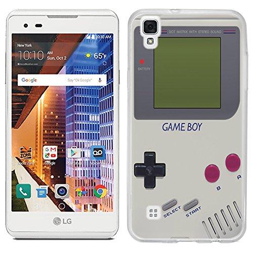 LG Tribute HD case - [Retro GameBoy] (Crystal Clear) PaletteShield Soft Flexible TPU gel skin phone cover (fit LG Tribute HD)