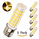E17 LED Bulb Microwave Oven Light Dimmable, 5W (50W Halogen Bulb...