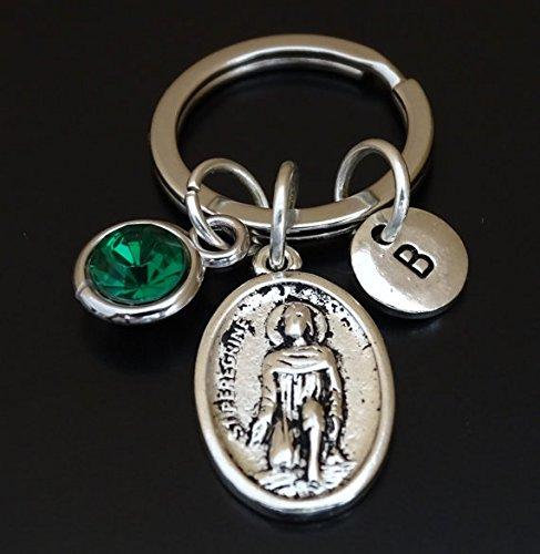 Amazon saint peregrine keychain saint peregrine charm saint saint peregrine keychain saint peregrine charm saint peregrine pendant saint peregrine key chain mozeypictures Gallery