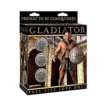 MUÑECO Hinchable Gladiador TAMAÑO Real: Amazon.es: Electrónica