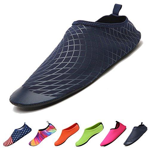 Sable Chaussures Pieds Surf De Unisexe Style Hommes Piscine Exercice Durable B Femmes Dans Sports Aqua Yoga Lger Plage Rapide Pour L'eau Semelle Schage arTfxr