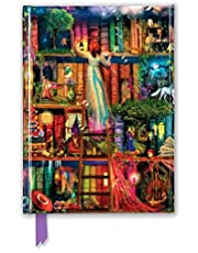 Aimee Stewart: Treasure Hunt Bookshelves (Foiled Journal)