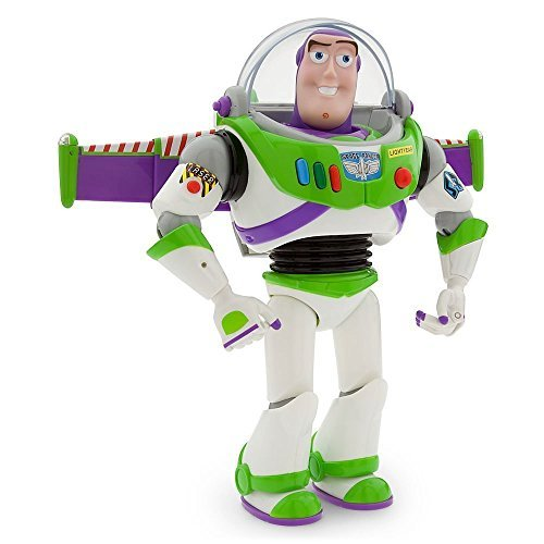 Disney Advanced Talking Buzz Lightyear Action Figure 12″ image