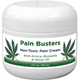 Pain Busters Arnica, MSM & Hemp Oil Pain Relief Cream