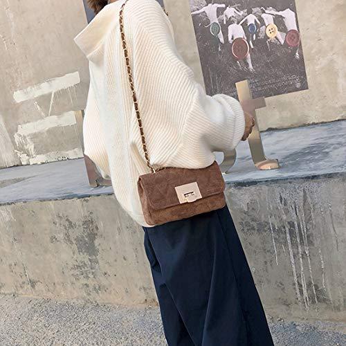 centrale Pour bandoulière Marron Scrub couleur Kervinfendriyun Mini Sac Marron Yy4 Femmes en bandoulière Sacs Paquet cuir d'unité x0I0OnAqRw