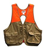 Gamehide Gamebird Ultra-Light Vest (Tan/Orange, X-Large)