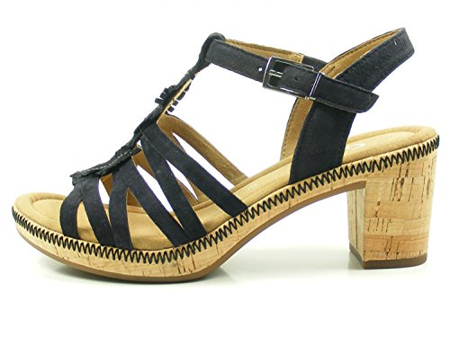 Gabor Vrouwen Comfortabele Strappy Sandals Sport Blauw