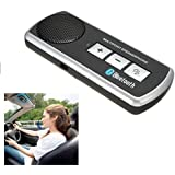 BW Bluetooth Handsfree Car Kit Speaker Sun Visor Clip for Mobile Phone iPhone 6S 6 5S 5 4S 4 Samsung Galaxy S5 S3 i9300 and More......
