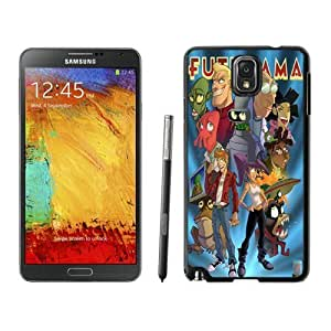 For Samsung Note 3,Futurama Painting HD 640x1136 wallpapers Black Samsung Note 3 Case Online