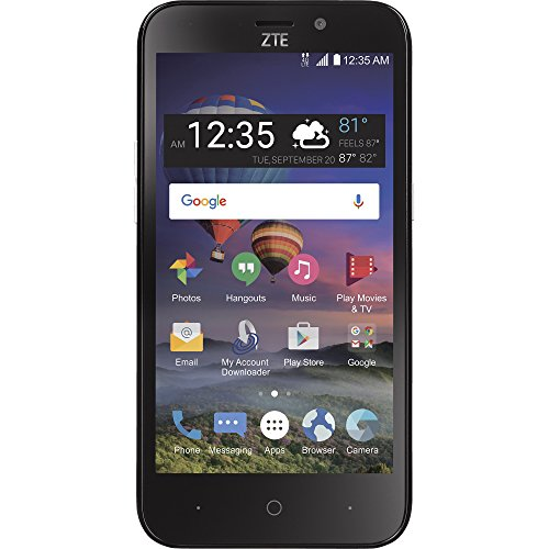 Simple Mobile ZTE ZFive2 4G LTE Prepaid Smartphone by Simple Mobile