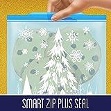 Ziploc Freezer Bag, 1 Quart, 28 Count, Pack of