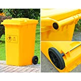 Outdoor Trash Cans Outdoor Thick Plastic Large