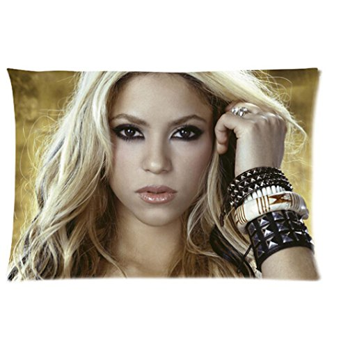 Custom Printed Design with Shakira Rectangle Pillow Cases 20