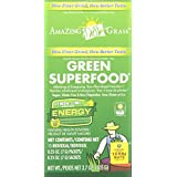 Amazing Grass Green Superfood Energy Lemon Lime, Box of 15 Individual Servings, 0.25-Ounce, 15 Count