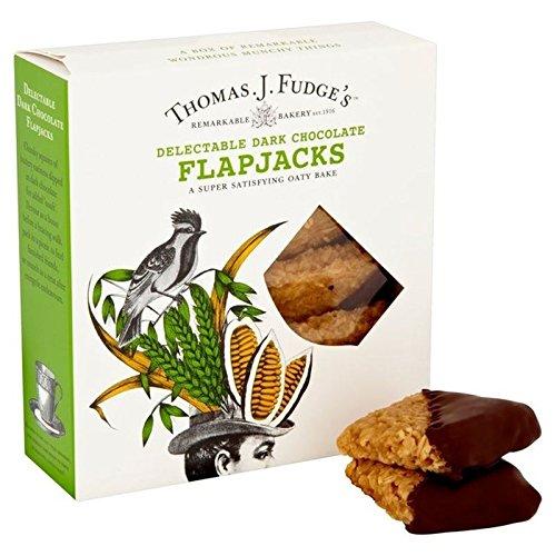 Crackers Chocolate Dipped (Fudge's Dark Chocolate Flapjacks 8 per pack)