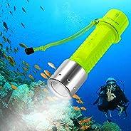 BlueFire Professional 1100 Lumen Diving Flashlight CREE XM-L2 Bright Submarine Light Scuba Safety Lights Water