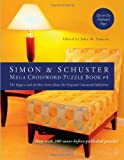 Simon and Schuster Mega Crossword Puzzle Book #4, , 1416587810