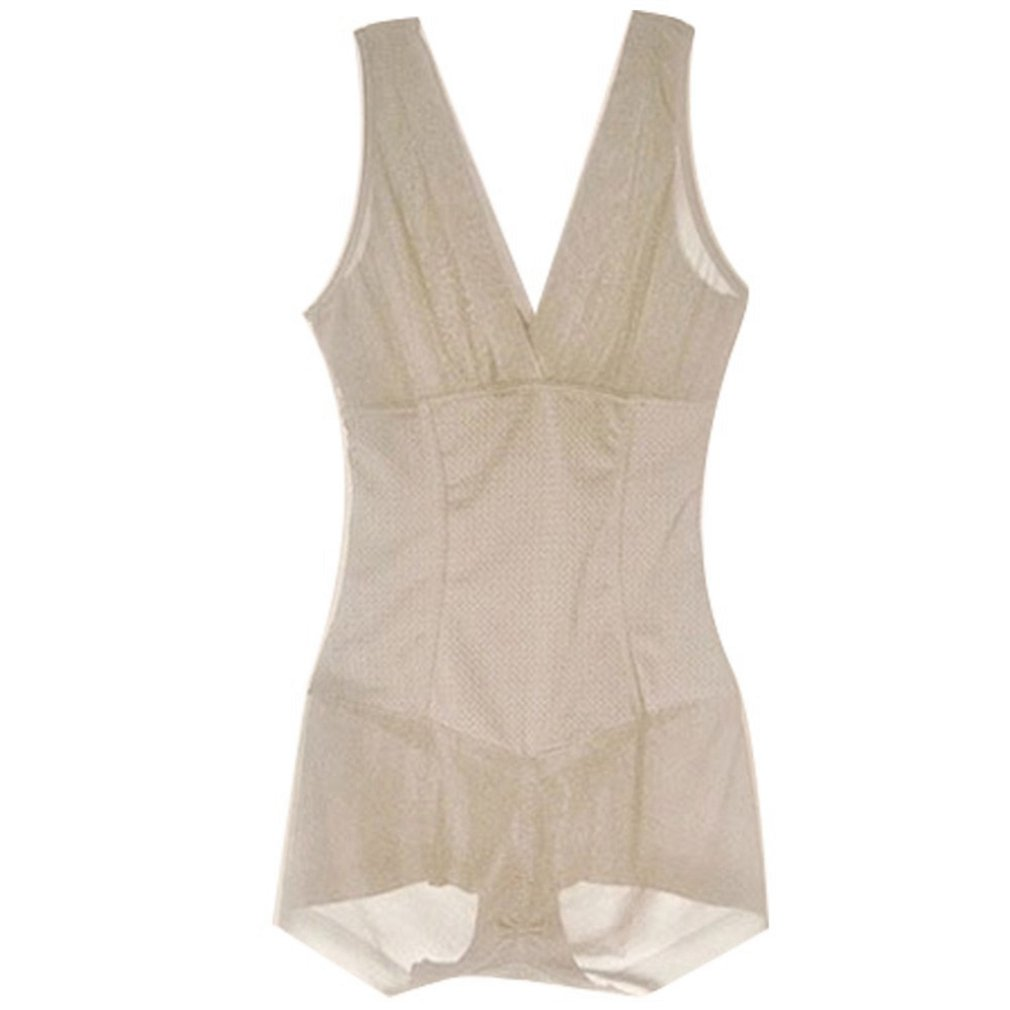 648c8f2a3b576 AVENBER Women Bodysuit Shaped Clothing Body Shaper Lady Slimming Burn Fat  Briefs Shapewear at Amazon Women s Clothing store
