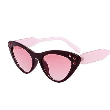Sumferkyh Tendencia Gafas de Sol Ojos de Gato Gafas de Sol ...