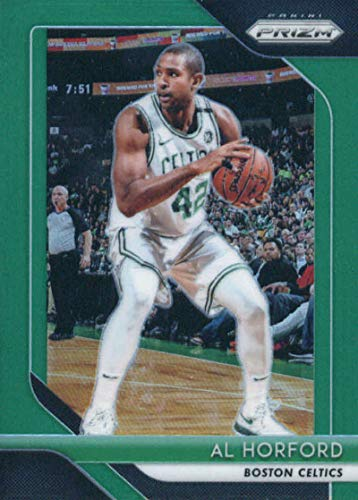2018-19 Panini Prizm Prizms Green #128 Al Horford Boston Celtics Basketball Card