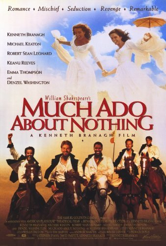 Much Ado About Nothing POSTER Movie (27 x 40 Inches - 69cm x 102cm) (1993) (Style B) (Kate Beckinsale In Much Ado About Nothing)