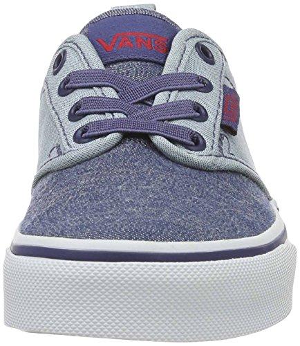 VansYt Atwood Slip-on - Zapatillas para chico Azul (Chambray)