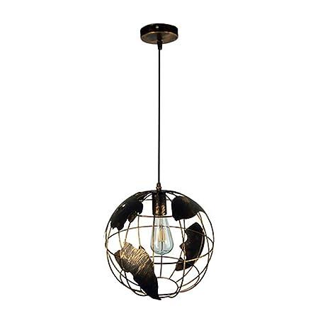 Iluminación de industriales Retro lámpara colgante LED Globo ...
