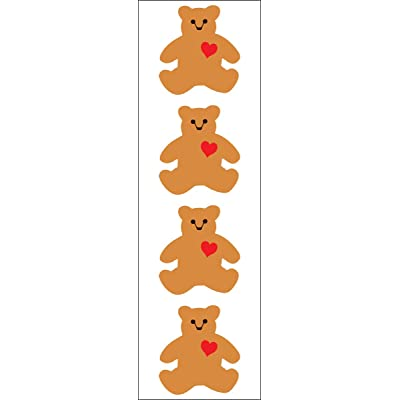 Mrs. Grossman's Sticker Packs classic bear 2 sheets: Kitchen & Dining