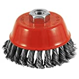 EAB Tool 2160431 4-Inch Diameter Knotted Wire Cup Brush