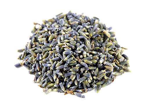 - DriedDecor.com French Lavender Dried Lavender Buds - 1 Pound - Dry Flowers