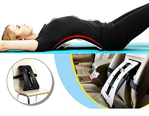 Magic Back Stretcher Lumbar Support Device For Upper and Lower Back Pain Relief