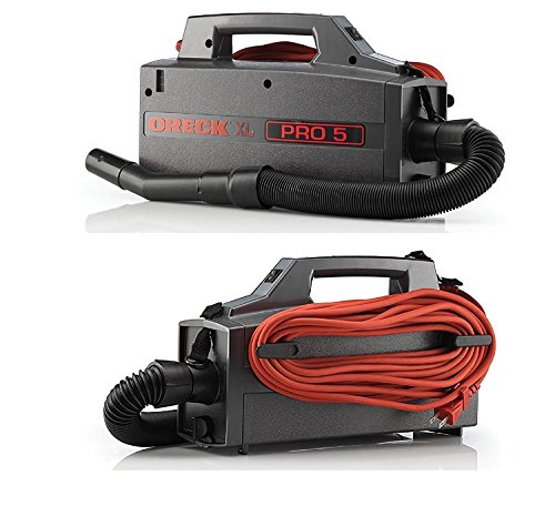 Oreck Pro 5 Canister Vacuum, Cord with 8 Genuine AK1BB8A Bags