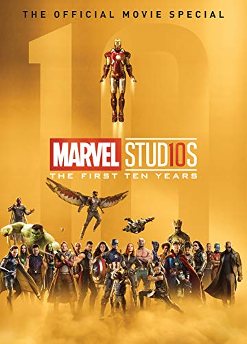 Marvel Universe Book - Marvel Studios: The First Ten Years