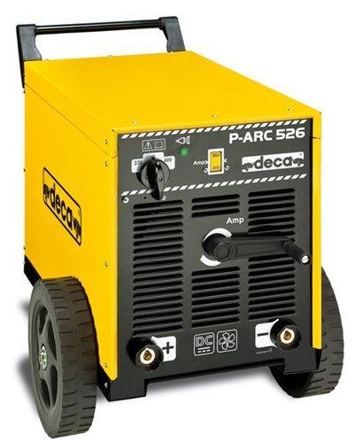 Soldadura con Electrodo trifásico de corriente continua DC p-arc 526 ...