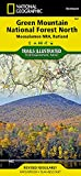 Green Mountain National Forest North [Moosalamoo National Recreation Area, Rutland] (National Geographic Trails Illustrated Map)