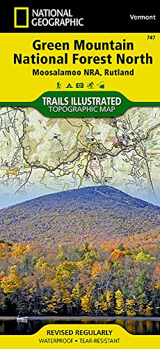 (Green Mountain National Forest North [Moosalamoo National Recreation Area, Rutland] (National Geographic Trails Illustrated Map))
