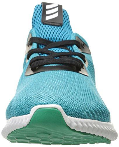 adidas Rendimiento Hombre alphabounce M–Zapatillas de running Energy Blue/White/Core Green