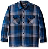 Pendleton Men's Lakeside Shirt Jacket,Colbalt Blue Plaid,XX-Large
