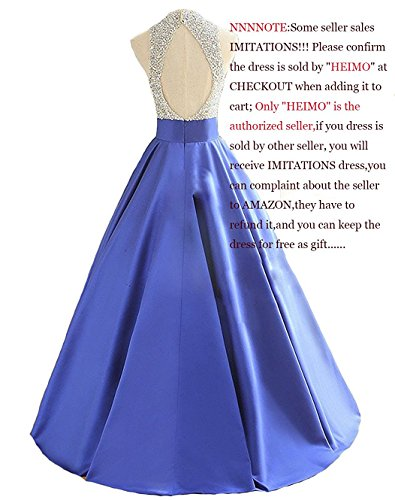 BABUBALA Elegant cool Women's Sequins Keyhole Back Evening Ball Gown Beaded Formal Dresses Long H095 Grape0 by BABUBALA Jumpsuits-apparel