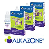 AlkaZone - Alkaline pH Booster Drops 1.25 fl oz (3-Pack)