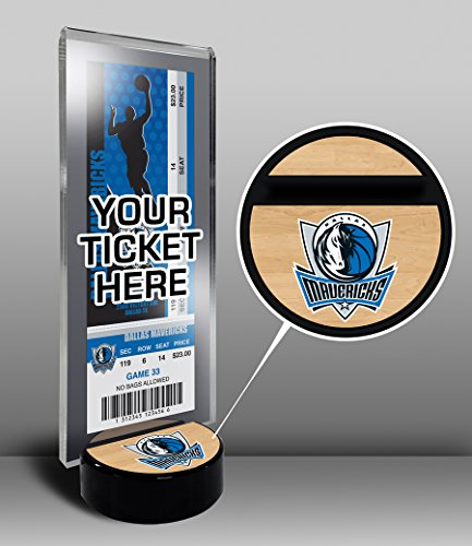 Mavericks Tickets - Dallas Mavericks Ticket Display Stand