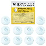 Aroma Trees Professional Strength Suction Cups 45mm (Large - 10 Packs) without Hook