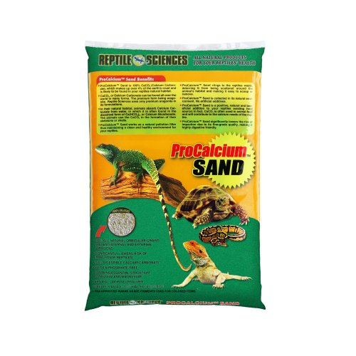 Reptile Sciences Terrarium Sand, 10-Pound, Green by Reptile Sciences