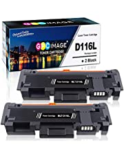 GPC Image Compatible Toner Cartridges Replacement for Samsung MLT D116L D116S to use with Xpress SL-M2835DW M2825ND M2825DW M2885FW M2675 M2675FN M2875FD M2625 M2626 M2676 M2825 (Black, 2-Pack)