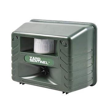 Yard Sentinel, al aire libre electrónico ultrasónico Pest Animal repelente, Animal Control, Control