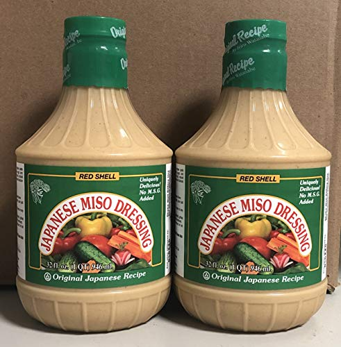 Red Shell Miso Dressing 32oz. (2 -
