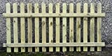 90cm (3ft) tall x 1.8m (6ft) Picket Garden Fence Panel hand built treated wood