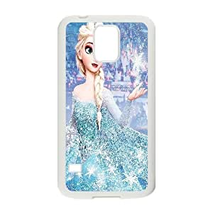 Bloomingbluerose Elsa. this Picture Is too Pretty not to Repin. My Future Kids Will Love this Movie?­whether They Like it or not Haha Samsung Galaxy S5 Case Protective Cute for Girls, Case for Samsung Galaxy S5 for Women [White]