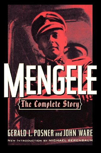 Buy mengele the complete story