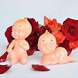 2 Vintage Style Kewpie Dolls Cake Topper Baby Shower Topper Favor Cupid Babies